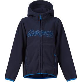 """Bergans Kids Bryggen Jacket Navy/Athens Blue"""
